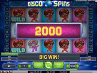 Disco Spins - wielka wygrana