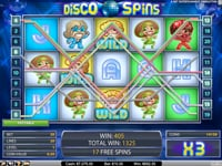 Disco Spins - darmowe spiny