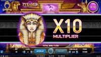 Pyramid Quest for Immortality mnożnik x10