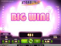 Игровой автомат Sarburst Big Win