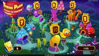Theme Park slot - mapa