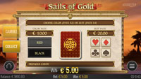 Sails of Gold - funkcja Gamble